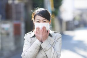 花粉症の写真